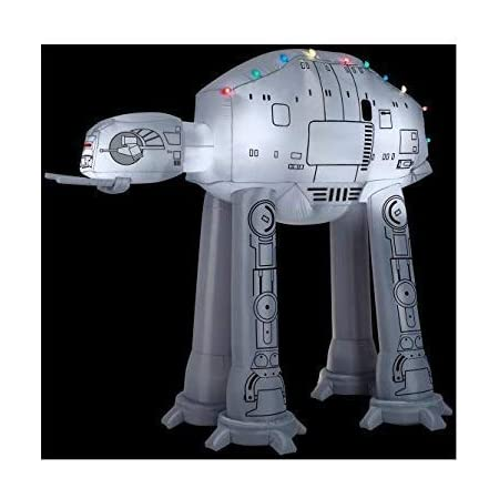 Gemmy 37523 Airblown at-at w/Light String Star Wars Christmas Inflatable
