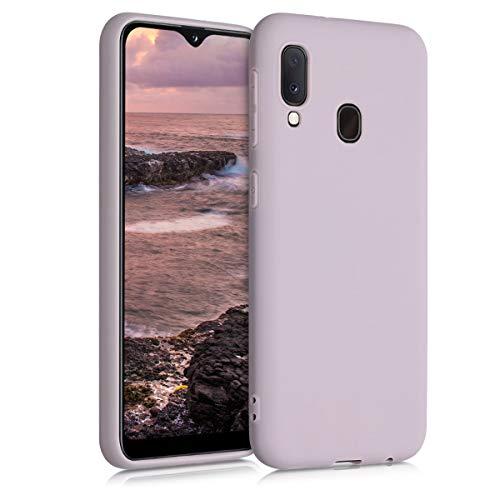 kwmobile Hülle kompatibel mit Samsung Galaxy A20e - Hülle Silikon - Soft Handyhülle - Handy Hülle in Dream of Cotton