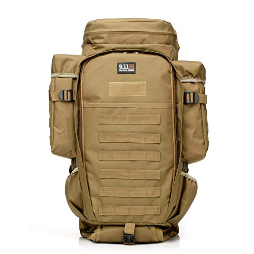 TnXan Travel Backpack Hiking Backpack Camo Russia Special Forces Combined Backpack Military Tactical Attack Rucksack Camping Hunting Tactics Equipment Knapsack