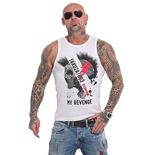 Yakuza Herren Skull Revenge Tank Top T-Shirt