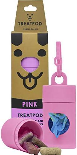 TreatPod Leash Treat Holder and Poop Bag Dispenser 2 in 1 Dog Waste Bag Dispenser and Treat product image
