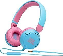 JBL JBLJR310BLU Kids On-Ear Headphones, Blue