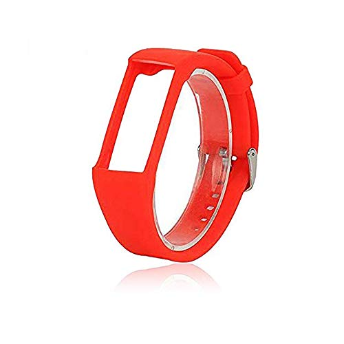 Bemodst® Armband für Polar A360 Fitness Tracker, Ersatzzubehör Armbanduhr Armband Weiches Silikon Schreibband Armband für Polar A 360 Smartwatch (rot)