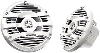 """Kenwood KFC-1653MRW 6.5"""" 2-Way Marine Speakers Pair (White)"""