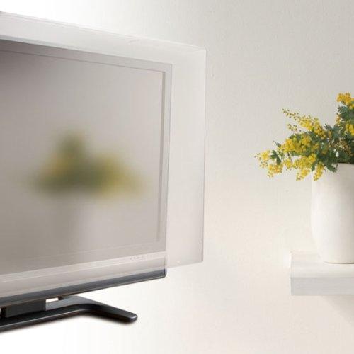 ロアス37インチ対応液晶テレビ保護パネル透明色表面アンチグレア加工帯電防止仕様パネル厚さ3.8mmLCG-037AG