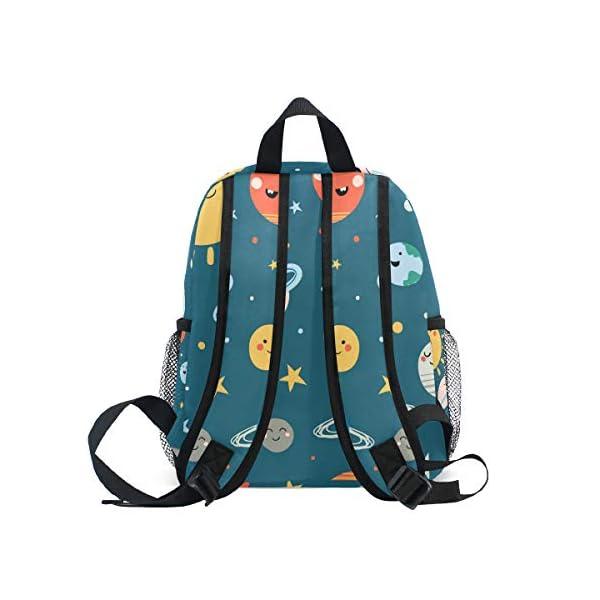 41jl244F IL. SS600  - CPYang Mochila para niños con sistema solar Planet Emoji School Bag Kindergarten Preescolar Mochila para niños y niñas