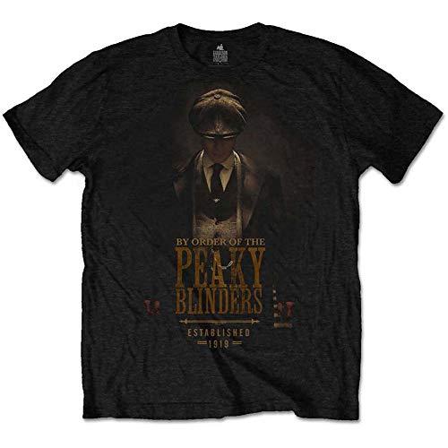 Unknown - Camiseta - para Hombre Negro Negro (M