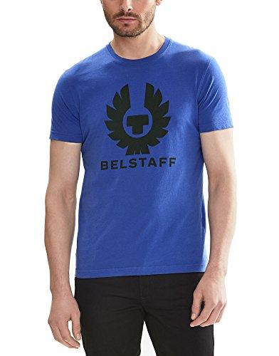 Belstaff Herren T-Shirt Blau Deep Electric Blue S