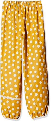 CareTec Kinder Regenhose (verschiedene Farben) Mehrfarbig (Mineral Yellow 372), Herstellergröße: 104