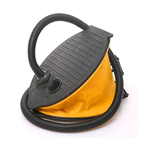 Kunyun Bomba de pedal inflable portátil para barco de remo Bomba de pedal de alta presión Bomba de aire de 58 mm de largo adaptador de manguera para la deriva SUP Board.