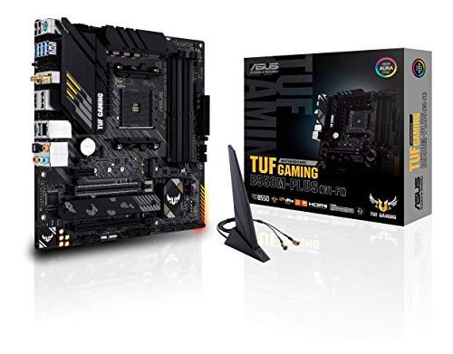 ASUS TUF Gaming B550M-PLUS (WiFi 6) AMD AM4 (3rd Gen Ryzen microATX Gaming Motherboard