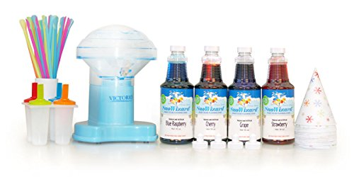 Best Price SnoWizard Blue Lightning Space Snow Cone Kit