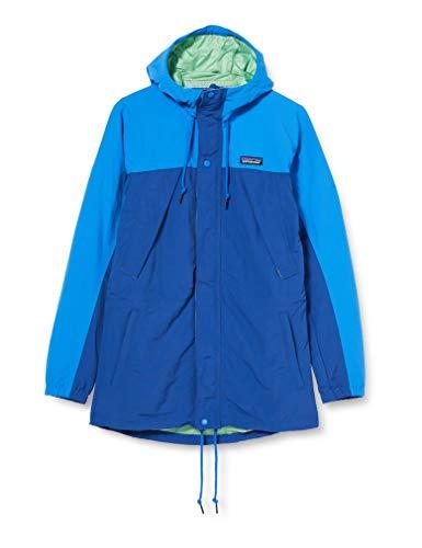 Patagonia M's Recycled Nylon Parka für Herren, A-Linie Mantel, 20730, Blau, 20730 Small