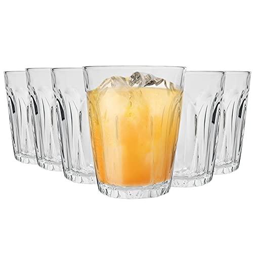 DURALEX Bicchiere Tumbler Provence - per Acqua/Succo/Cocktail - in Vetro - 250 ml - 12 Pezzi