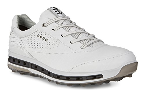ECCO Herren M Golf COOL PRO Golfschuhe, Weiß (White/Black/Transparent 50948), 44 EU