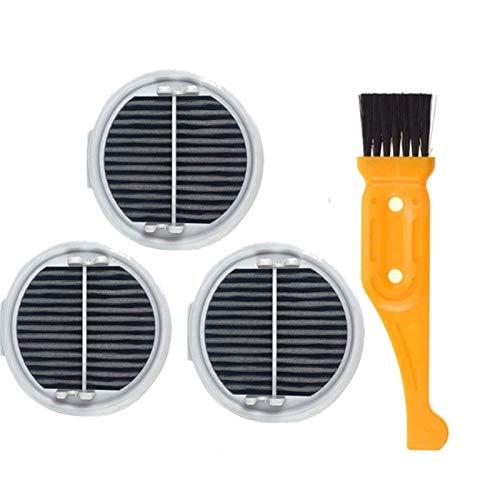 L-Yune, Waschbare Staubsaugerfilter Hepa Rollenbürste for Xiaomi for Roidmi Wireless-F8 Smart-Handstaubsauger Zubehör Teile (Größe : Multi)