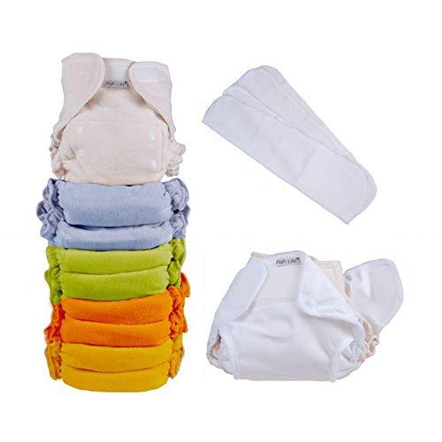 Popolini UltraFit Rainbow Soft Set Bunt sortiert Komplettset Stoffwindeln 3-15kg