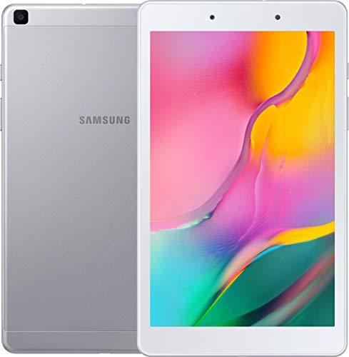 """Samsung Galaxy 8"""" Tab A Wi-Fi Tablet 64GB (32GB built-in + 32GB SDcard), Silver, SM-T290NZSCXAR (Renewed)"""