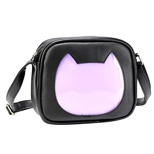 SteamedBun Ita Bag Cat Shaped Crossbody Purse Cell Phone Wallet Shoulder Bags with Insert