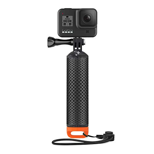 Floating Handle Grip Floaty Hand Waterproof Diving Handler Mount Monopod Pole Compatible with Go Pro Hero 8, 7, 6, 5, 4, 3+, 3, 2, 1, Max, Hero (2018), Session, Fusion and Most Action Cameras
