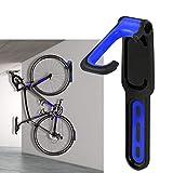 95sCloud Fahrradhalter Wandhalterung Vertikale Fahrradaufbewahrung klappbare Fahrradhalterung Fahrrad Fahrradständer für Mountainbike,MTB,E-Bikes,BMX,Road Maximales Ladegewicht: 40 lb (Blau)
