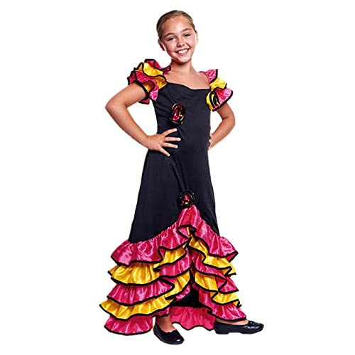 Disfraz Rumbera Niña (10-12 años) (+ Tallas) Carnaval Mundo