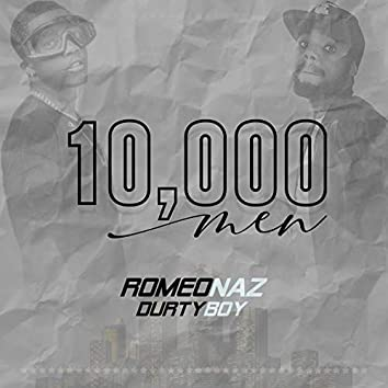 10,000 MEN