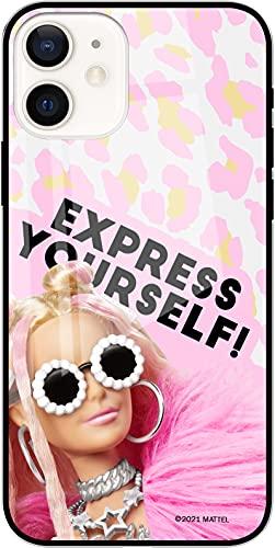 ERT GROUP Funda Original y Oficial de Barbie para iPhone 12 Mini, diseño de teléfono con Forma óptima a Prueba de Golpes