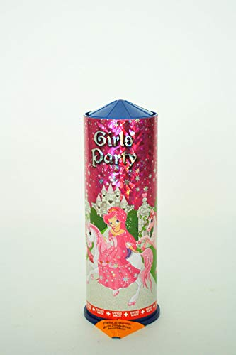 Weco Girls Party, Tischfeuerwerk, gefüllt mit vielen Partyartikeln