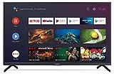 "Sharp Aquos 40BN6E - 40"" Smart TV 4K Ultra HD Dolby ATMOS Android 9.0, Wi-Fi, DVB-T2/S2, 3840 x 2160 Pixels, Nero, suono Harman Kardon, 3xHDMI 3xUSB, 2020"