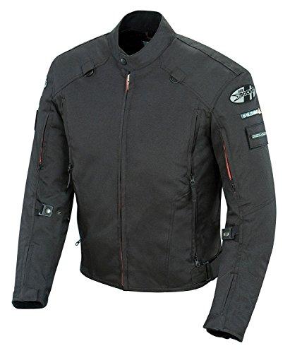 Joe Rocket Recon Militär-Jacke für Herren, Schwarz, Größe L