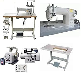 Yamata FY-8700 Industrial Single Needle Sewing Machine with Juki DDL8700 Table,Servo Motor.Assembly Required.DIY