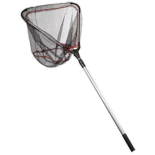 Tibhar Tischtennis Ballsammler | Ballauflesenetz mit Teleskopgriff | Sammelgerät für TT-Bälle | Gewicht 360gr | max. Länge 180cm | Kapazität für ca. 300 Bälle