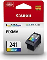 Genuine Canon CL-241 Ink Cartridge, Tri-Colour