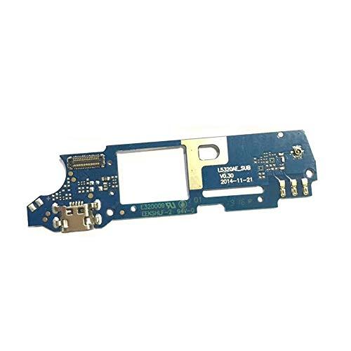 USB-Anschluss-Ladekarte für Wiko Ridge Fab 4G USB-Ladedock-Anschluss Flexkabel Reparaturteile
