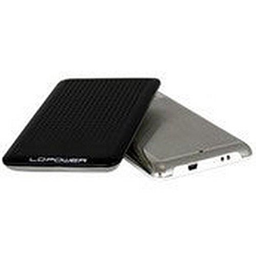 LC-Power LC-PRO-25BU Case Esterno per Interfacia SATA I, II, USB 2.0 e 1.1, 2.5-Inch, Nero