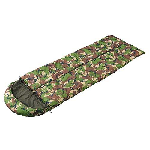 【終売品】 Snugpak(スナグパック) 寝袋 マリナー スクエア センタージップ DPMカモ 3シーズン対応 丸洗い可能 [快適使用温度-2度] (日本正規品)