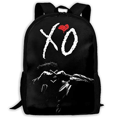 Laptop Bag Love_XO_Weeknd Travel Backpack Purse Large Capacity Student College Backpack for Men/Women