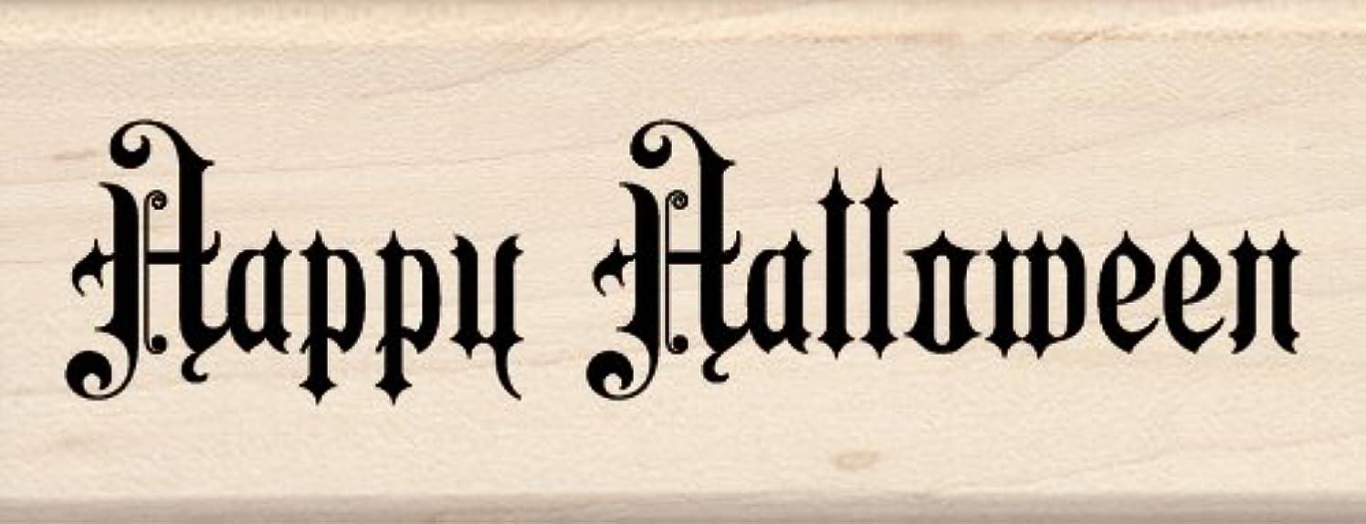 Inkadinkado Wood Stamp, Steampunk Happy Halloween
