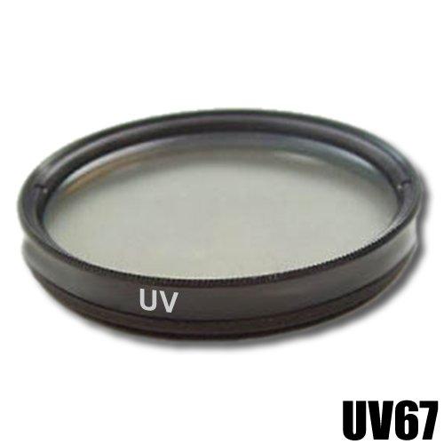 Filtro Ultra Violetto Originale DynaSun UV 67 mm 67mm con Custodia per Canon Nikon Sony Olympus