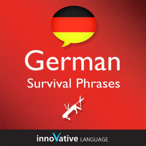 Learn German - Survival Phrases German, Volume 2: Lessons 31-60 Titelbild