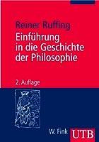 Einfuehrung in die Geschichte der Philosophie