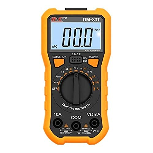 HTC Instruments DM 83T Digital Multimeter- TRMS With 2000 Count