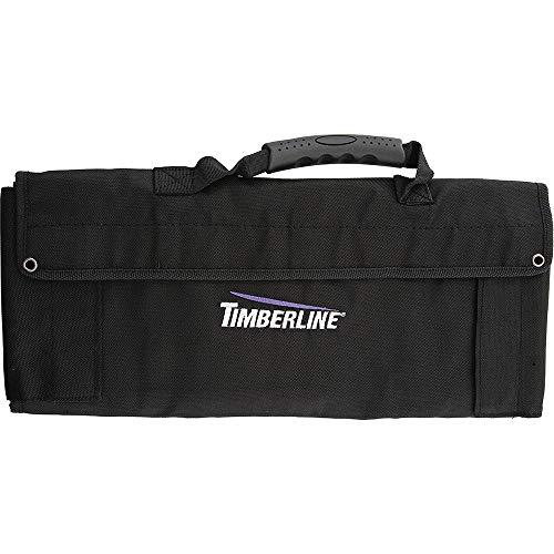 Timberline Tool Roll Messertasche für 16 Klapp- und Taschenmesser mit Klarsichtfenster Plus 1 große Zusatztasche