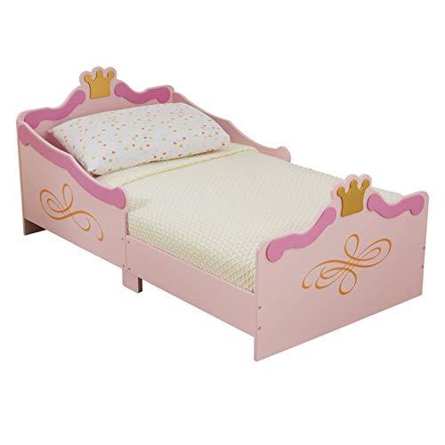 KidKraft- Estructura de cama, de madera, estilo de princesa, para niñas, mobiliario de dormitorio , Color Rosa (76139)