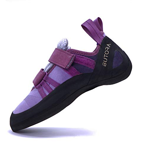 Butora Women's Endeavor Climbing Shoe - Tight Fit, Lavender, 6.5