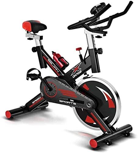 Bicicleta giratoria para el hogar silenciosa bicicleta de ejercicio para interiores y deportes, bicicleta de entrenamiento vertical, tamaño ajustable