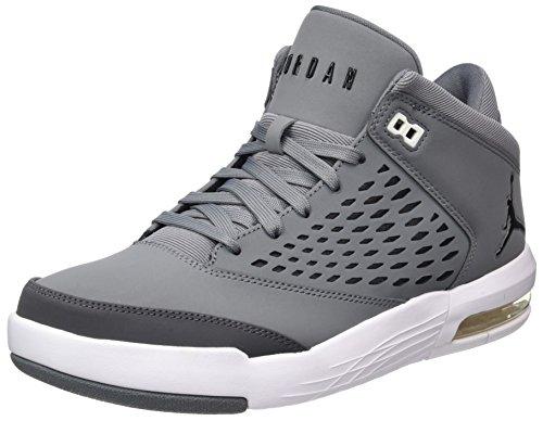 Nike Herren Jordan Flight Origin 4 Basketballschuhe, Grau (Cool Grey/Black/dk Grey/White), 41 EU