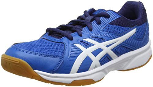 ASICS Herren Upcourt 3 1071A019-400 Volleyballschuhe, Blau (Racer Blue/White 400), 44.5 EU
