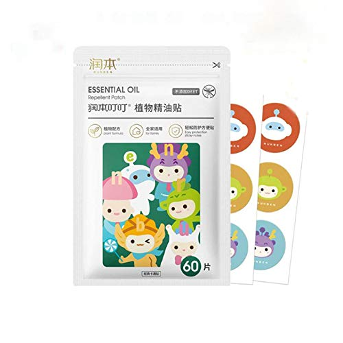 yifen Mosquito Repellent Patches Mosquito Repellent Stickers Natural Mosquito Repellent,natural Ingredients Suitable For Children And Adults,effective Protection For 12-24 Hours